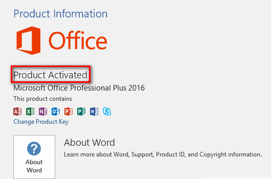 Microsoft Office 2016 Product Key Generator Activator Crack 2021