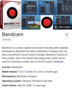Bandicam 4.5.8.1673 Crack 2020 Keygen Full Serial Number