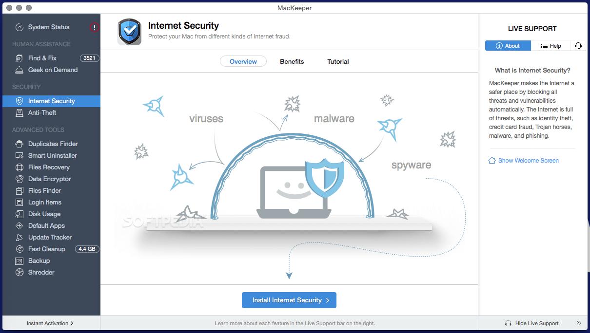 MacKeeper 5.4.4 Crack Activation Code Full Torrent Download 2021