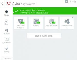 Avira Antivirus Pro Crack + Activation Code [Latest 2022]
